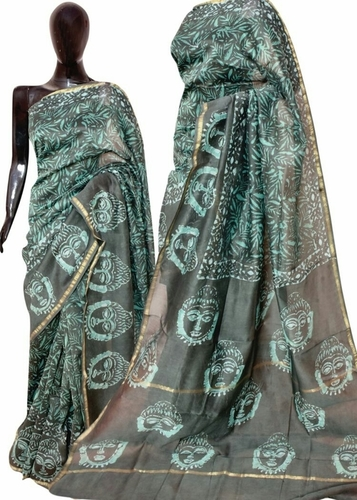 Chanderi Dabu Saree