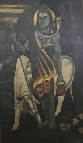 Shiva with Nandi