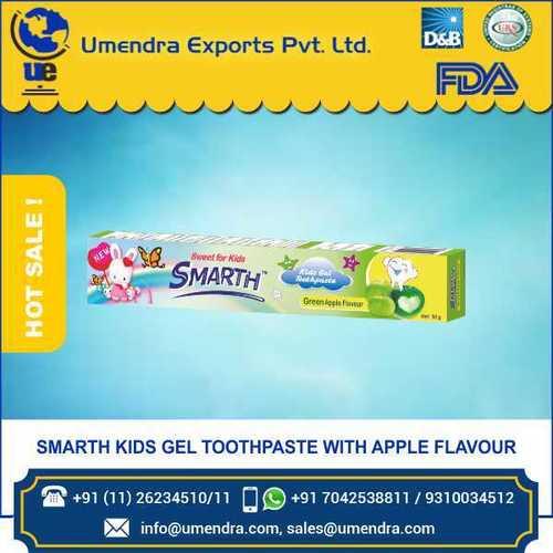 KID apple toothpaste