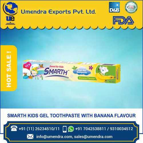 KID banana toothpaste