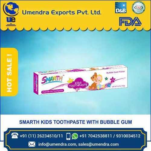 KID bubblegum toothpaste