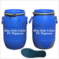 Blue PU footwear Pigment