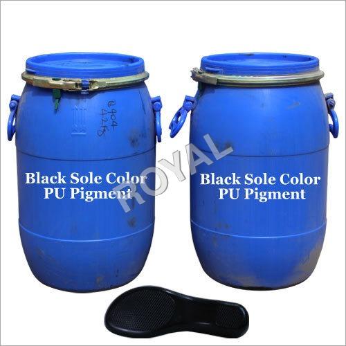 Black PU footwear Pigment