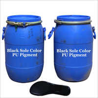 Black PU footwear Pigment
