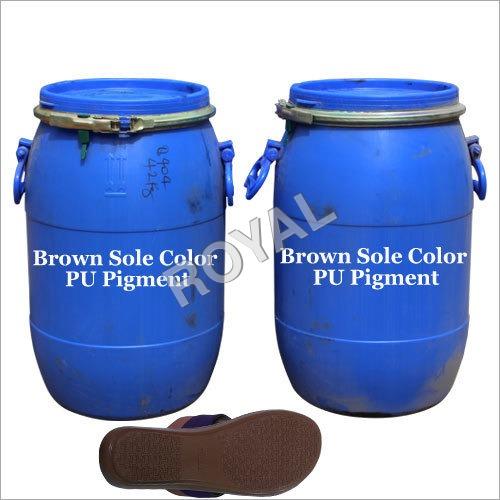 Brown PU footwear Pigment