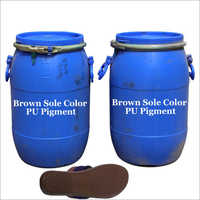 Brown PU footwear Pigment