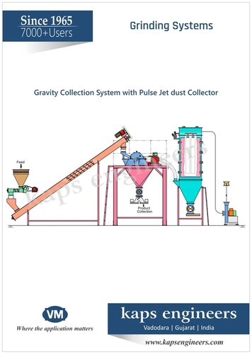Gravity System With Open Type Dust Collector