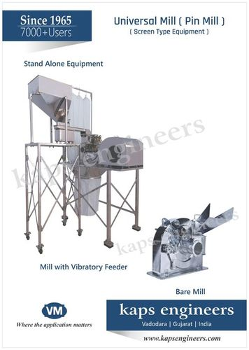 Pharma Milling & Grinding Equipments