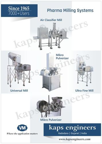 Pharma Milling Systems