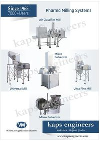 Pharma Milling Machine