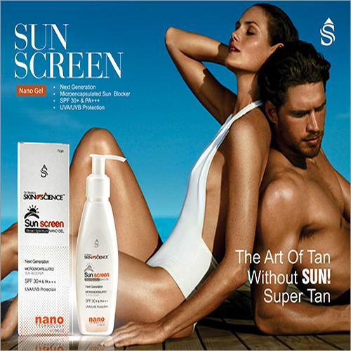 Sunscreen Nano Gel