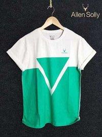 Green Round Neck T-Shirts