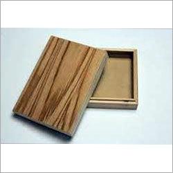 Wooden Wallet Box