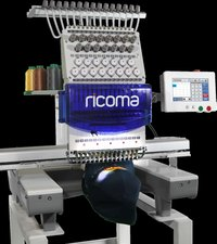 Ricoma Single Head Commercial Embroidery Machine