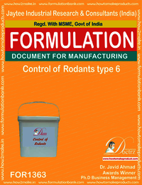 Rodents Control product Formulation type 6
