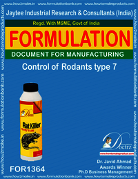 Rodents Control product Formulation type 7