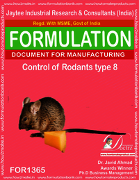 Rodents Control product Formulation type 8