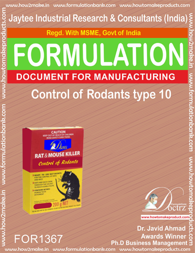 Insect Rodents Control Products Formulations
