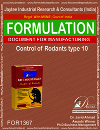 Rodents Control product Formulation type 10