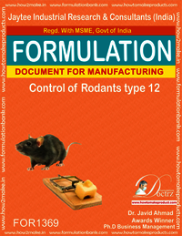 Rodents Control product Formulation type 12