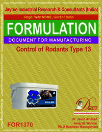 Rodents Control product Formulation type 13