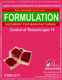 Rodents Control product Formulation type 14