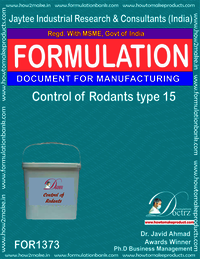 Rodents Control product Formulation type 15