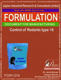 Rodents Control product Formulation type 16