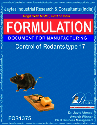 Rodents Control product Formulation type 17