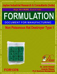 Non Poisonous Rat Destroyer Product Formula 1