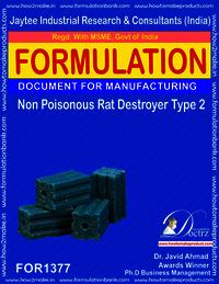 Non Poisonous Rat Destroyer Product Formula 2