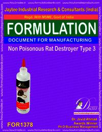 Non Poisonous Rat Destroyer Product Formula 3