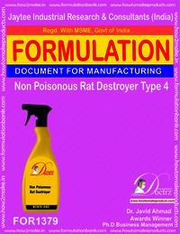 Non Poisonous Rat Destroyer Product Formula 4
