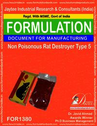 Non Poisonous Rat Destroyer Product Formula 5