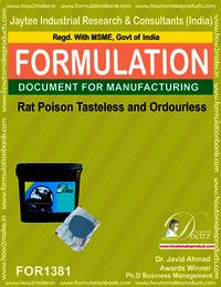 Rat Poison Tasteless and Odorless Formulation 1