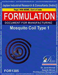 Mosquito coil Formulation type 2