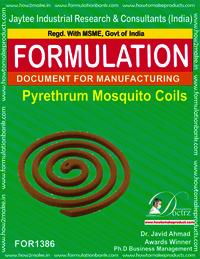 Pyrethrum Mosquito coil Formulation