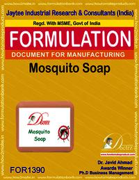 Anti mosquito soap formulation