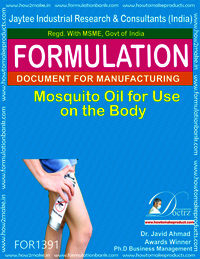 Mosquito Oil for Use on the Body