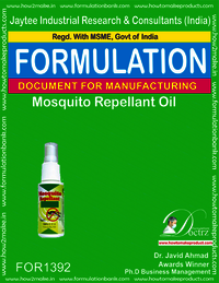 Mosquito repellent oil for body