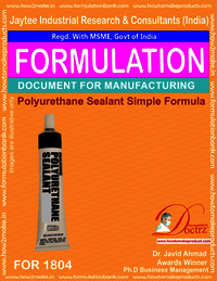 Simple Polysulphide Sealant Manufacturing formula