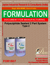 Polysulphide 2 Parts sealant formula 2