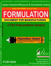 2 Parts Polyurethane Sealant Manufacturing formula
