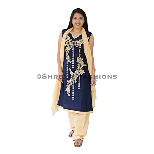 Ladies Straight Cut Salwar Suit