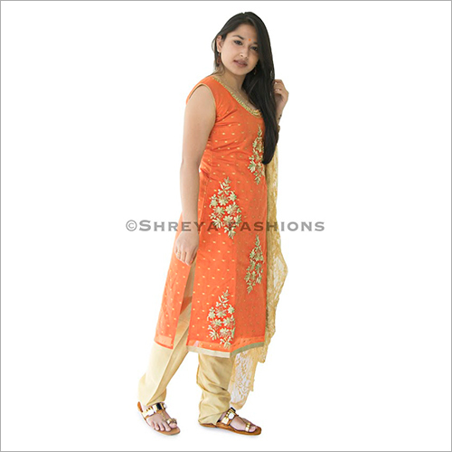Chanedri Silk Ladies Churidar Suit