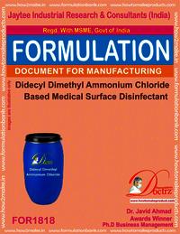 Didecyl dimethyl Ammonium Chloride Medical Disinfectant