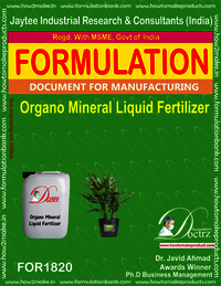 Organo-Mineral liquid fertilizer formulation