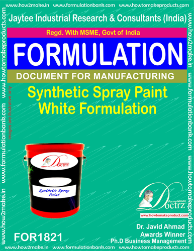 Paint Manufacturing Formulations