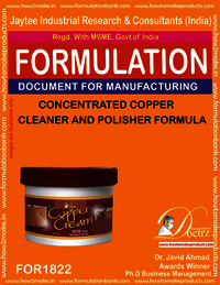 Concentrated copper cleaner and polisher chemical