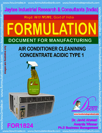 Air Conditioner cleaning concentrate acidic nature2